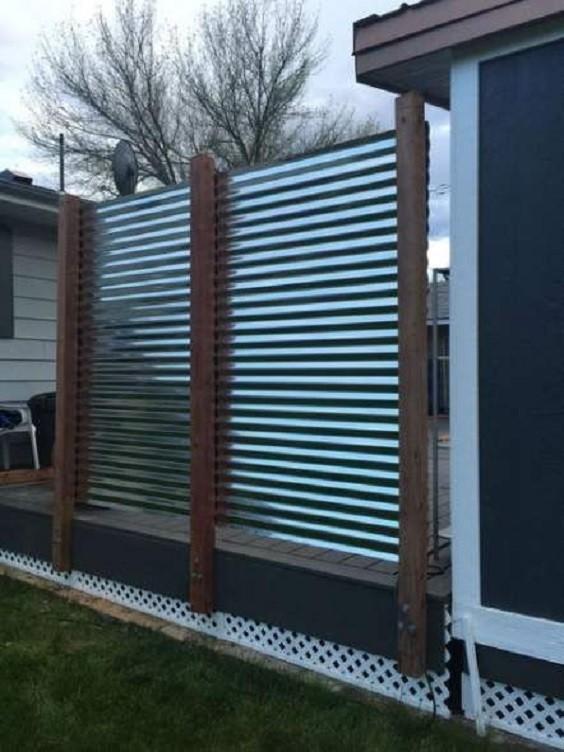 metal fence ideas 16