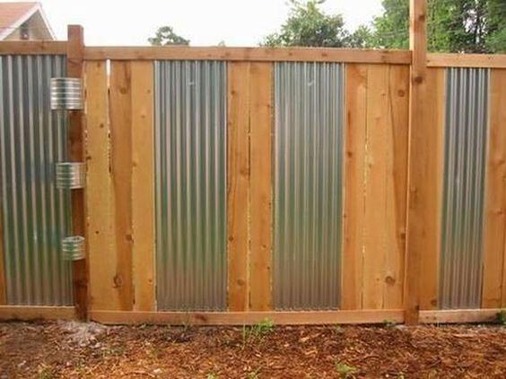 metal fence ideas 18