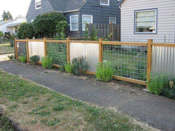 metal fence ideas 19