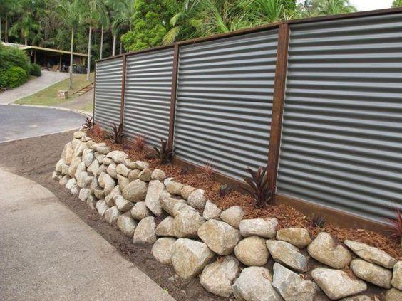 metal fence ideas 20