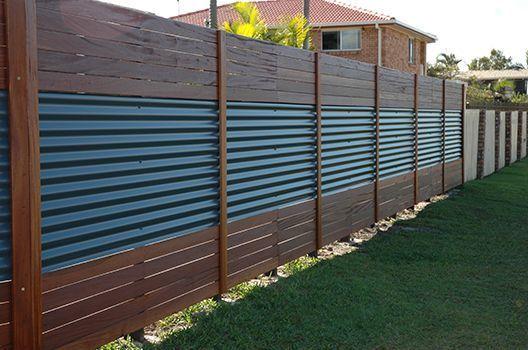metal fence ideas 21