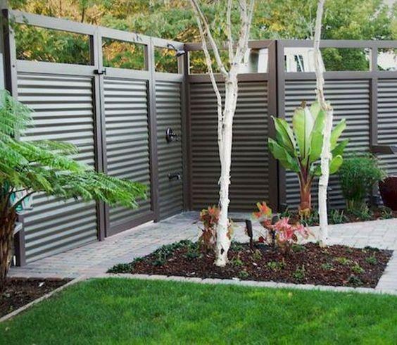 metal fence ideas 22