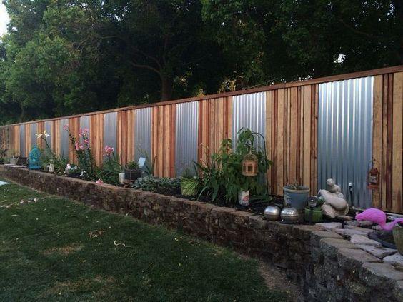 metal fence ideas 25