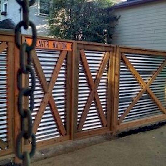 metal fence ideas 9
