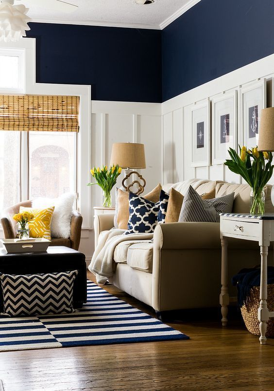 navy living room 12