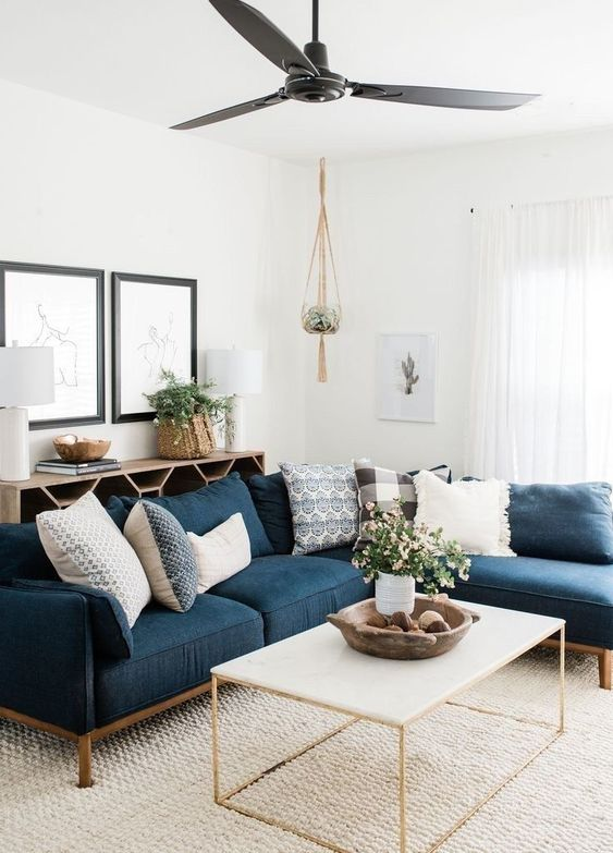 navy living room 18