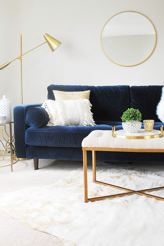 navy living room 19
