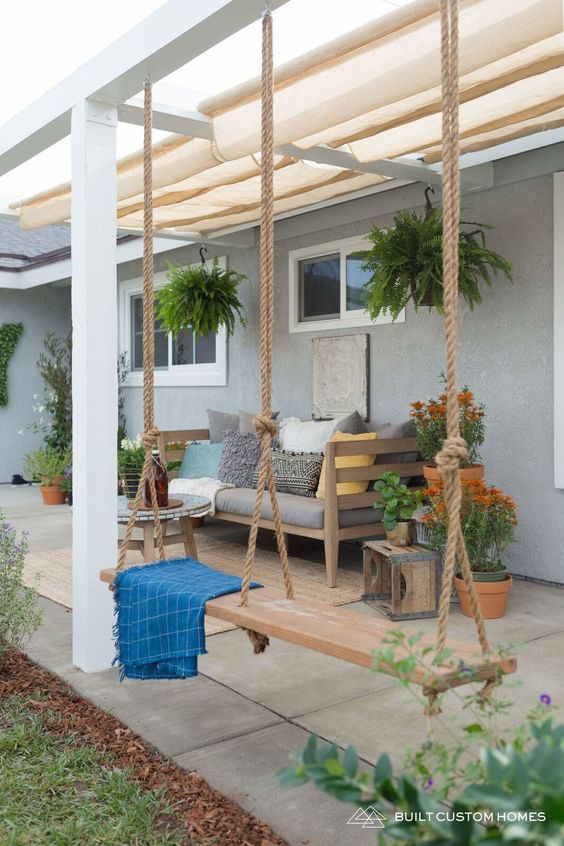 simple patio ideas 1