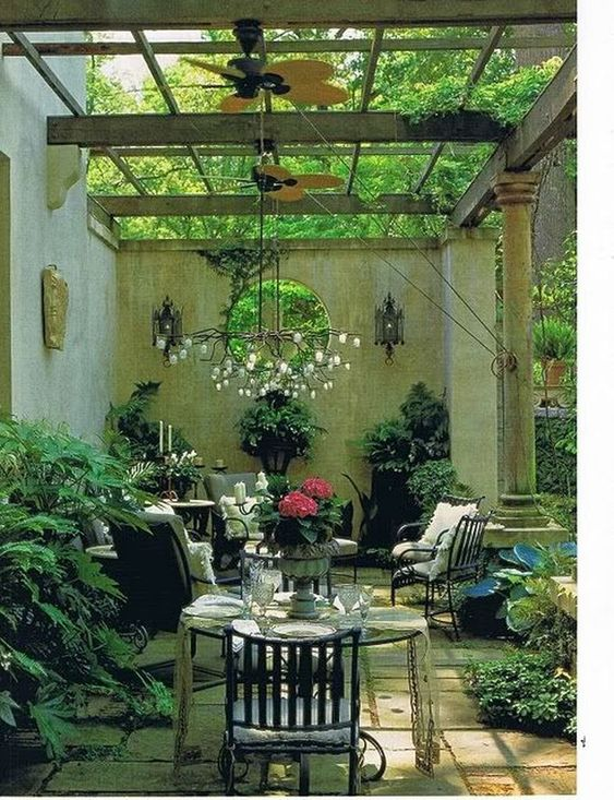 simple patio ideas 23