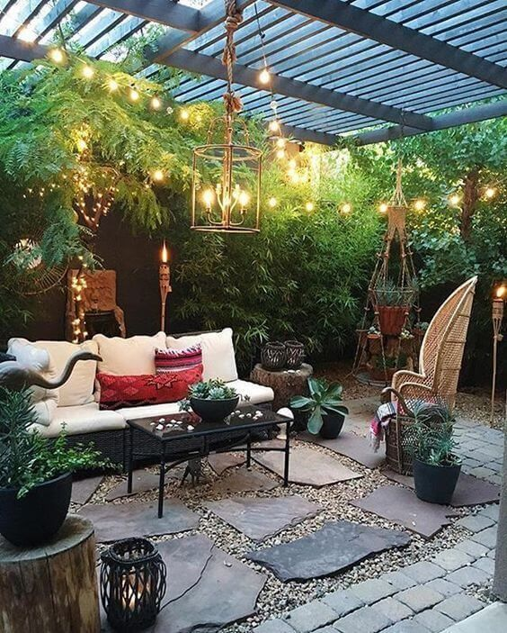 simple patio ideas 24