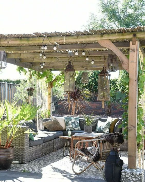 simple patio ideas 25