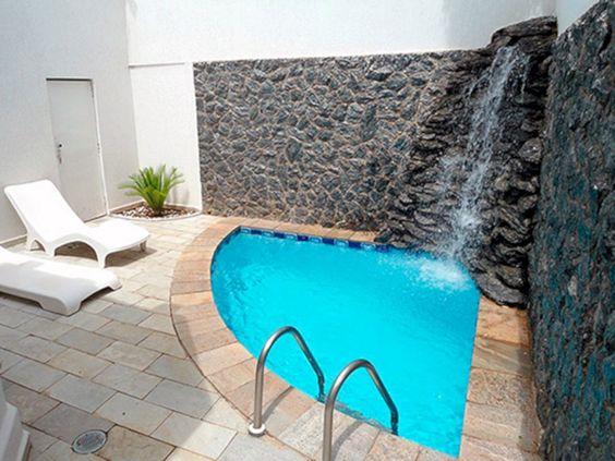 Small Swimming Pool: Half Circular Pool