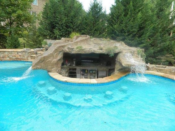 swimming pool with slides 23