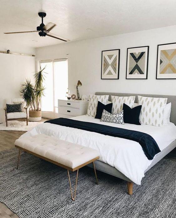 White Bedroom Ideas: Warm Neutral Decor