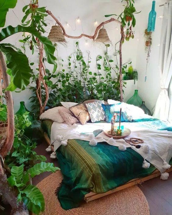 bedroom plants ideas 17