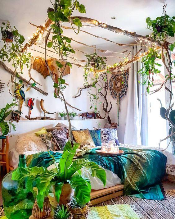 bedroom plants ideas 19