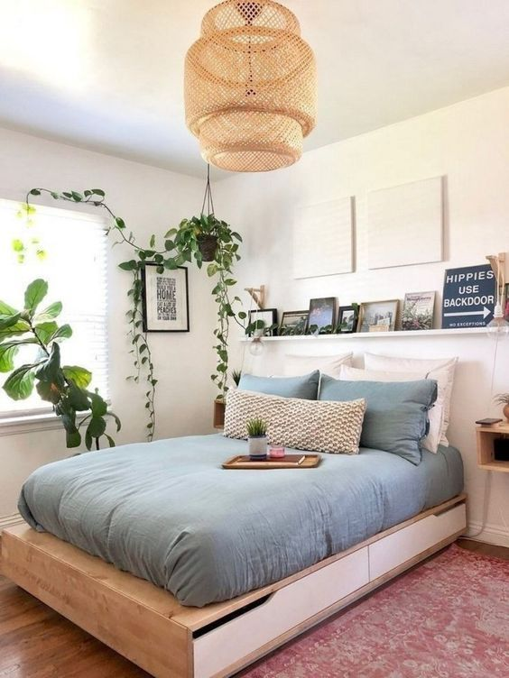 Bedroom Plants Ideas: Chic Teen Decor