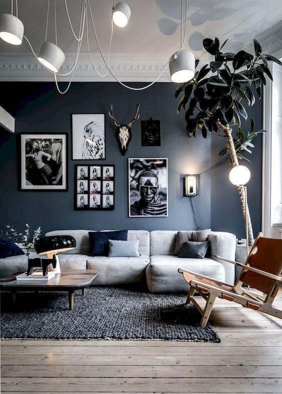 blue living room 15