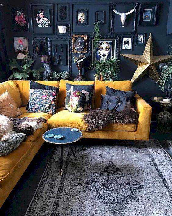 blue living room 16