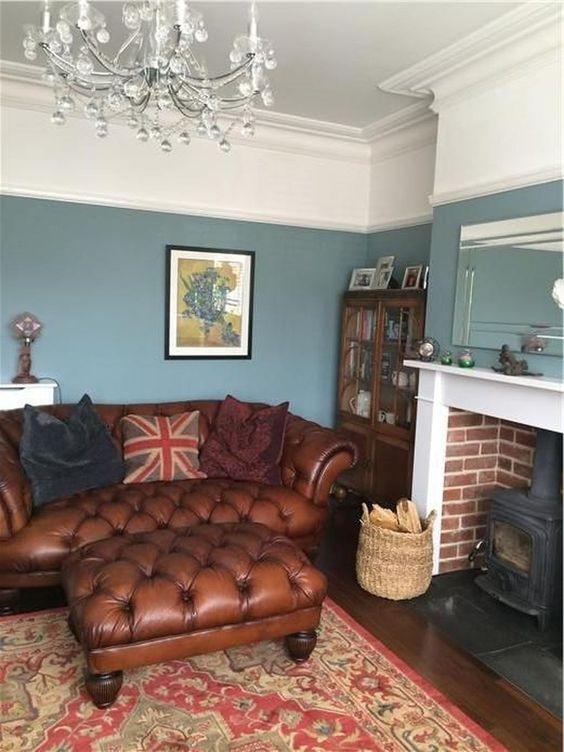 blue living room 18