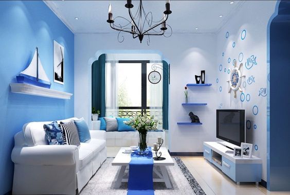 blue living room 24