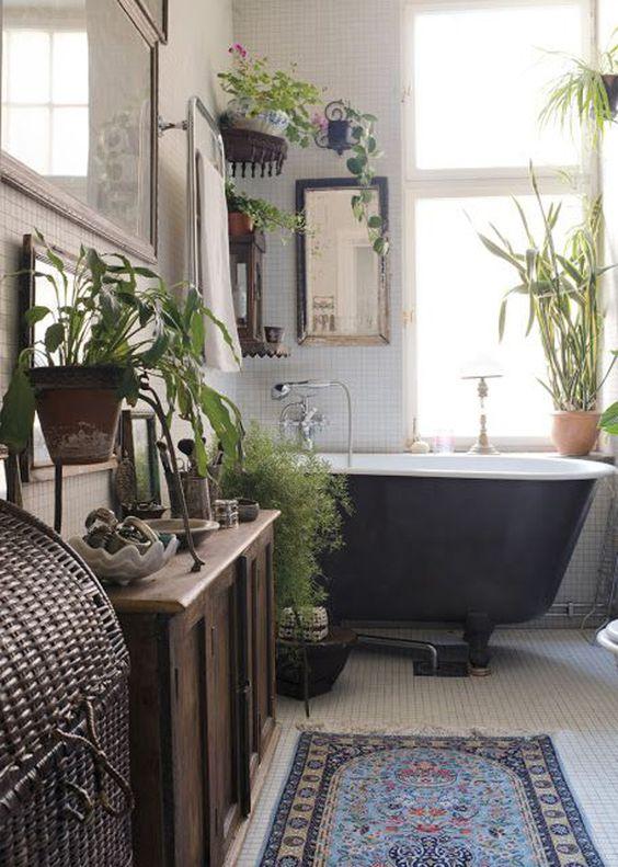 Boho Bathroom Ideas: Fresh Earthy Decor