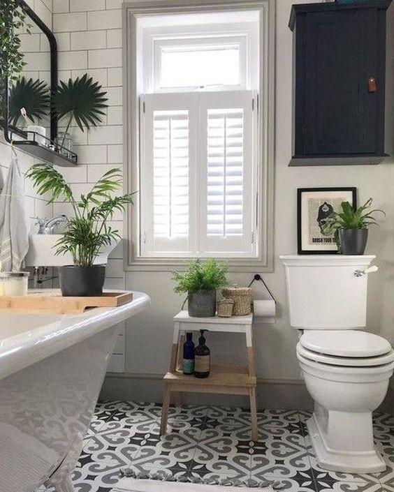 boho bathroom ideas 14