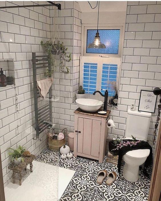 boho bathroom ideas 15