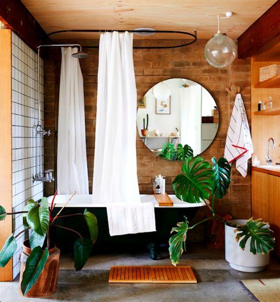 Boho Bathroom Ideas: Earthy Rustic Decor