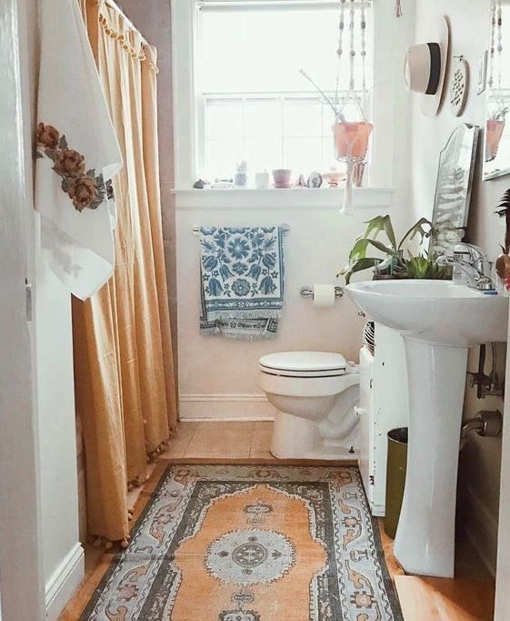 boho bathroom ideas 6