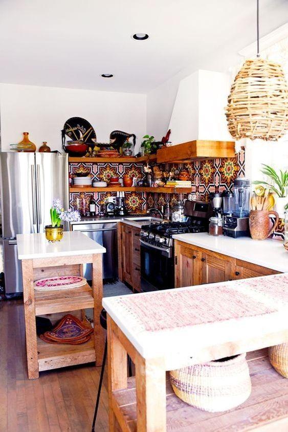 Boho Kitchen Ideas: Earthy Chic Decor