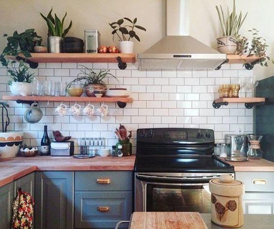 boho kitchen ideas 23
