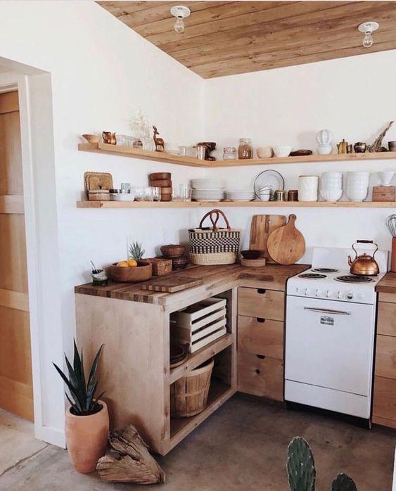 boho kitchen ideas 24