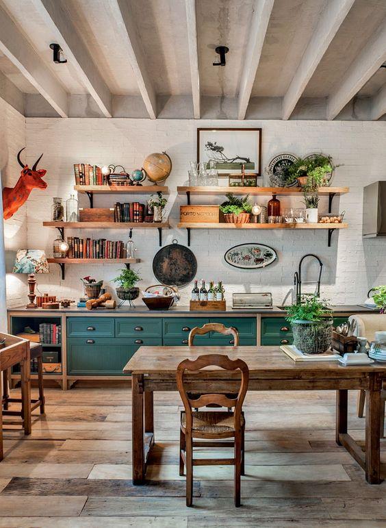 boho kitchen ideas 25