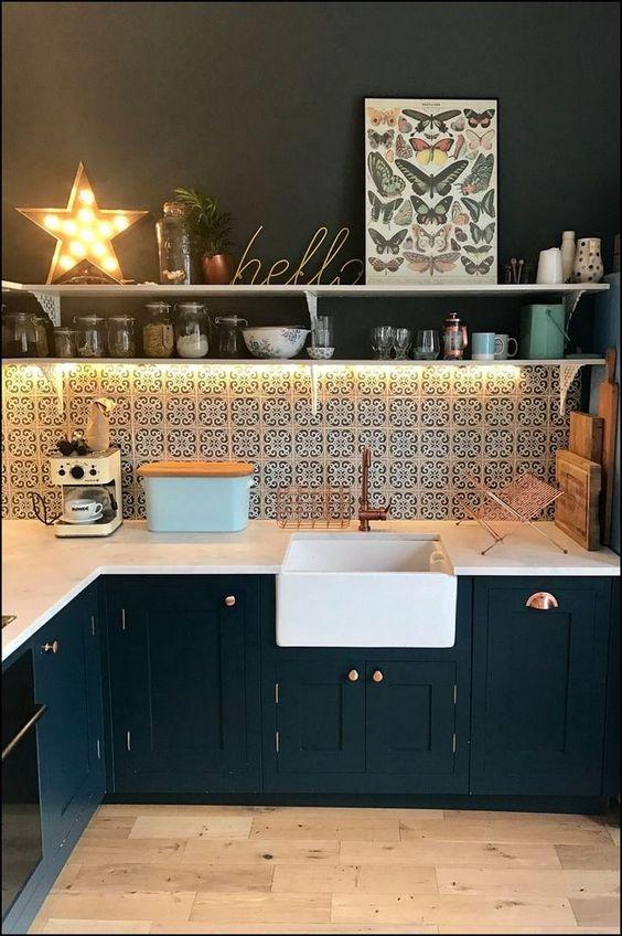 Boho Kitchen Ideas: Stylish Bold Decor