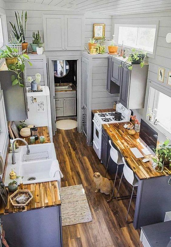 Boho Kitchens Idea: Decorative Rustic Kitchen