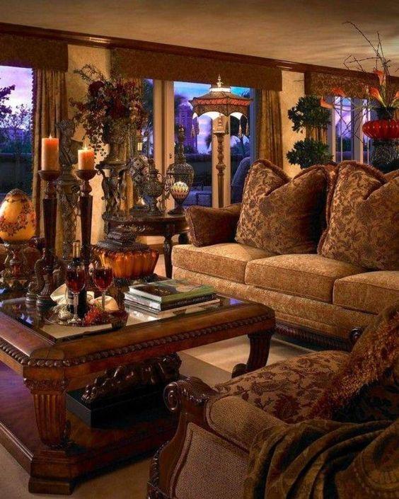 brown living room 11