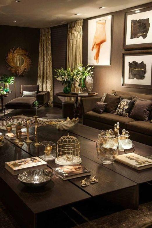 brown living room 13