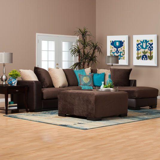 brown living room 14