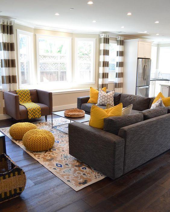 brown living room 15