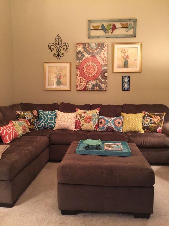 brown living room 16