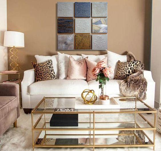 brown living room 17