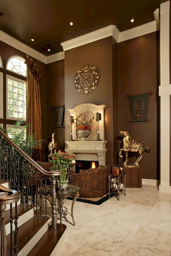 Brown Living Room Ideas: Boldly Elegant Decor