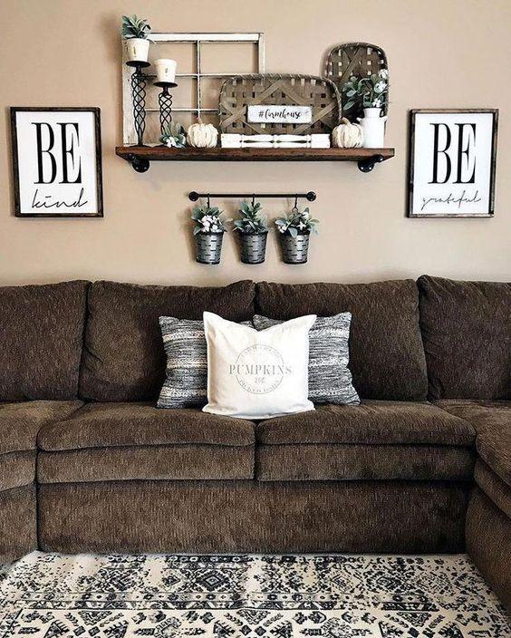 brown living room 22
