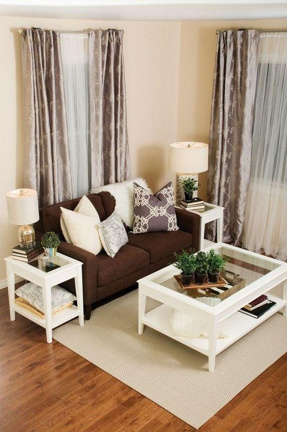 Brown Living Room Ideas: Gorgeous Simple Decor