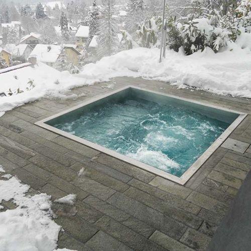 built in hot tub 13
