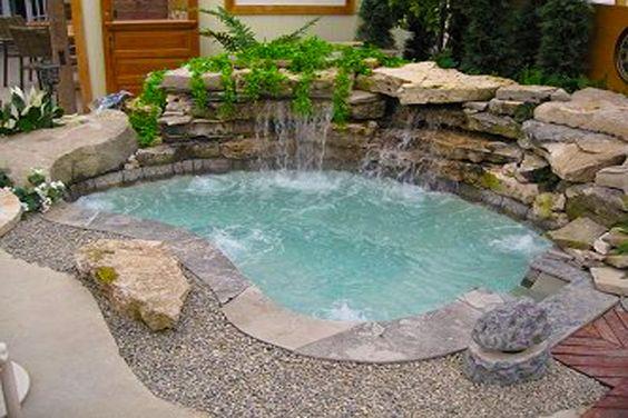 built in hot tub 18