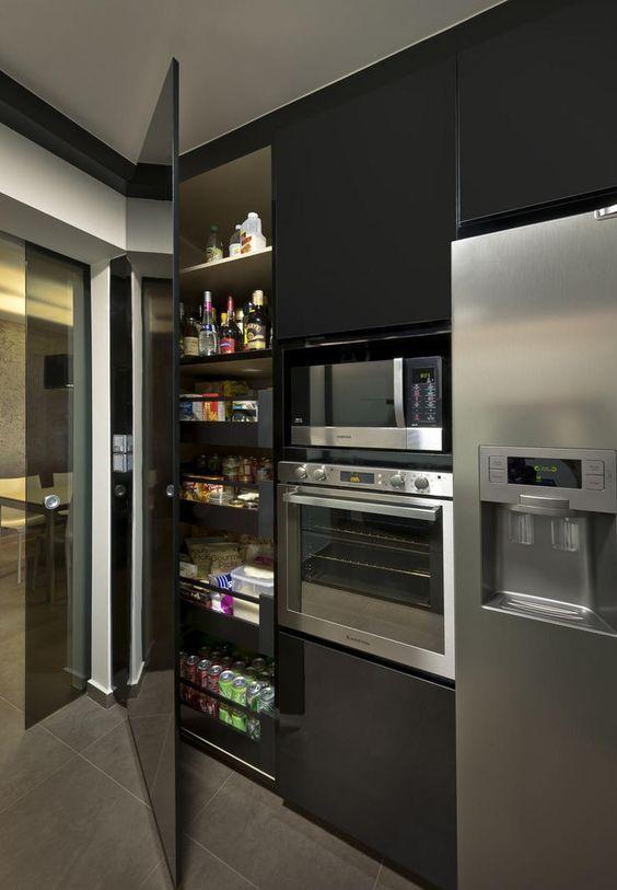 dark kitchen ideas 11