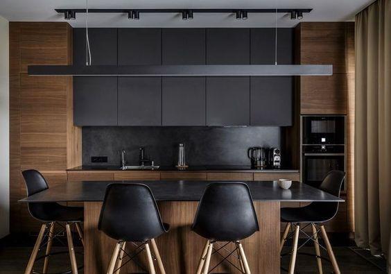 dark kitchen ideas 22
