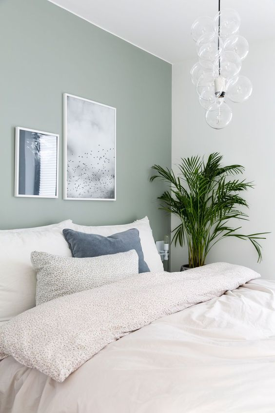 Green Bedroom Ideas: Brightly Earthy Decor